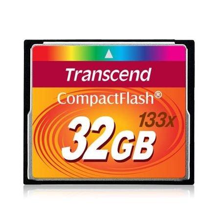 【新風尚潮流】創見記憶卡 32G CF 133X 終身保固 現貨 TS32GCF133