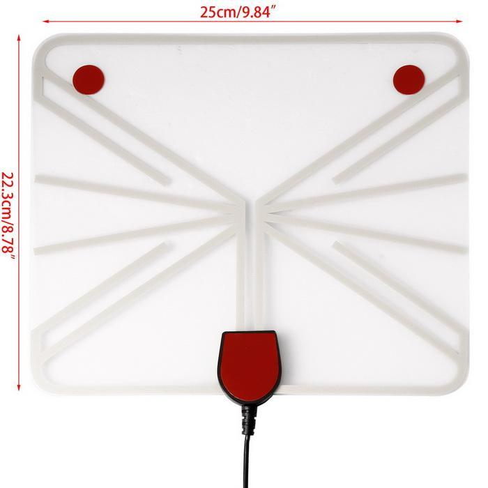 Digital HD Television Antenna 50 Mile Range with Detachable Amplifier Booster 5