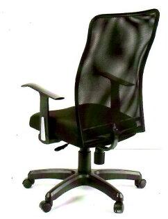 【尚品傢俱】106-D010黑色網布辦公椅書房椅電腦椅~另有綠色
