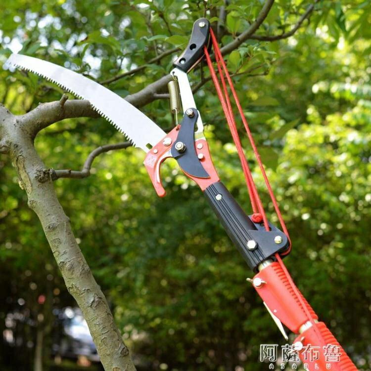 高枝剪 高枝剪伸縮園林工具修剪樹枝剪刀高枝鋸修樹鋸高空剪子園藝修枝剪 交換禮物