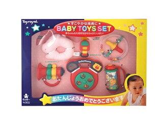 日本【ToyRoyal 樂雅】新玩具搖鈴禮盒(中)