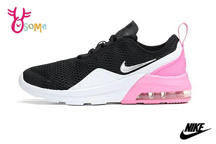 NIKE AIR MAX MOTION 2 (PSE) 中童鞋 運動鞋 緩震慢跑鞋 P7063#黑粉◆OSOME奧森鞋業