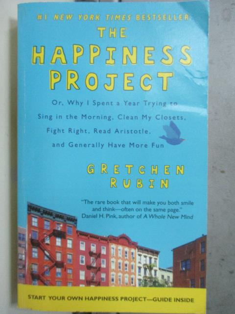 【書寶二手書T5/原文小說_JCO】The Happiness Project_Gretchen Rubin