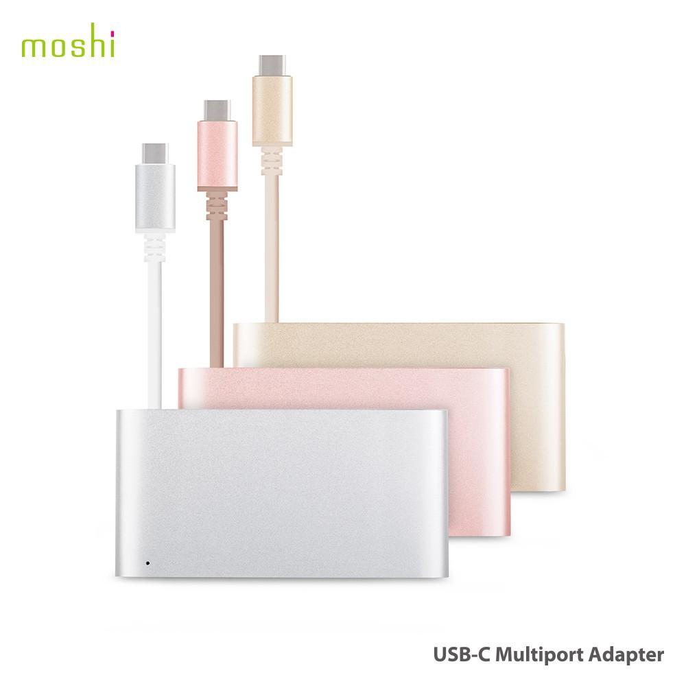 Moshi USB-C 多端口轉接器 apple mac macbook pro HDMI USB 端口