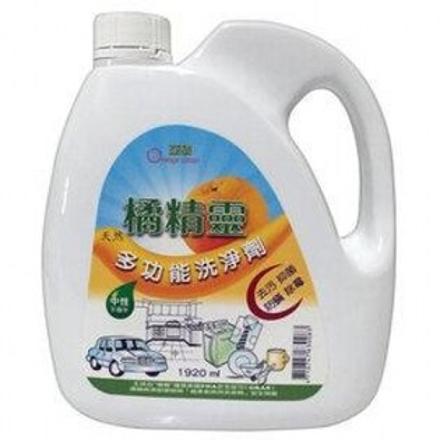 鏡感樂活市集:亞積橘精靈多功能洗淨劑(0.5加侖1920ml)瓶