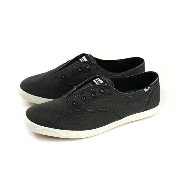 Keds帆布鞋休閒黑色女鞋9171W130033no282