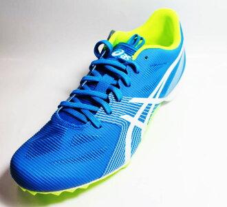 ASICS 亞瑟士 HYPER MD 6 田徑鞋(中長程) 水藍 G502Y-4301(附鞋袋與鞋丁)[陽光樂活=]