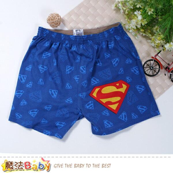 男性褲子電影超人授權正版男性居家休閒短褲魔法Baby~k50917