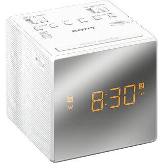 ::bonJOIE:: Sony ICF-C1T 白色 雙鬧鐘電子鬧鐘 (全新盒裝) Alarm Clock Radio ICFC1T