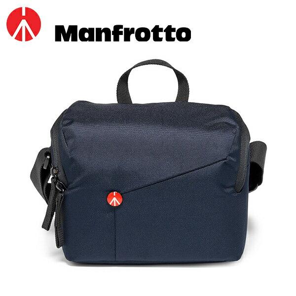 ◎相機專家◎Manfrotto開拓者微單眼肩背包側背包藍色MBNX-SB-IBU-2公司貨