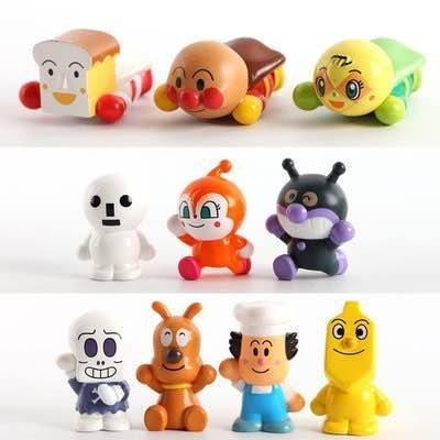 =優生活=日本Anpanman麵包超人?菌超人吐司超人 10款人物玩偶公仔手指偶 親子互動 玩具