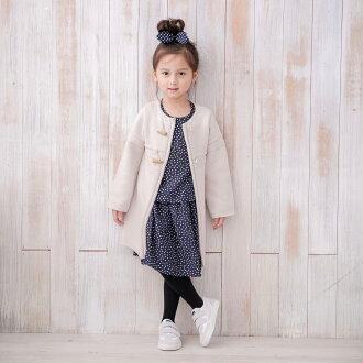 [ 雙子俏媽咪親子館 ] MARGUERITE 日本素材採用 牛角粗針織長版外套 ( 小晴天本舖 HARU )