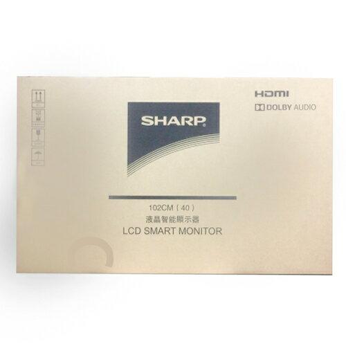 SHARP夏普 40吋 智慧連網電視 LC-40SF466T (不含安裝)