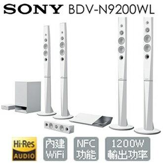 <br/><br/>  SONY BDV-N9200WL 家庭劇院 情境模式 9.1聲道 NFC WIFI 公司貨 分期0利率  免運<br/><br/>
