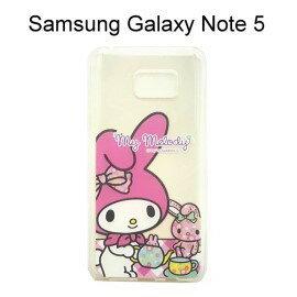 Melody 美樂蒂透明軟殼 [午茶時間] Samsung N9208 Galaxy Note 5【三麗鷗正版授權】
