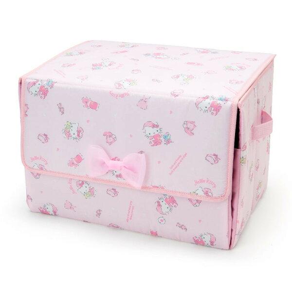 X射線【C293706】HelloKitty前開式收納箱-睡衣,分隔箱玩具箱置物盒文具收納箱衣物收納櫥櫃收納