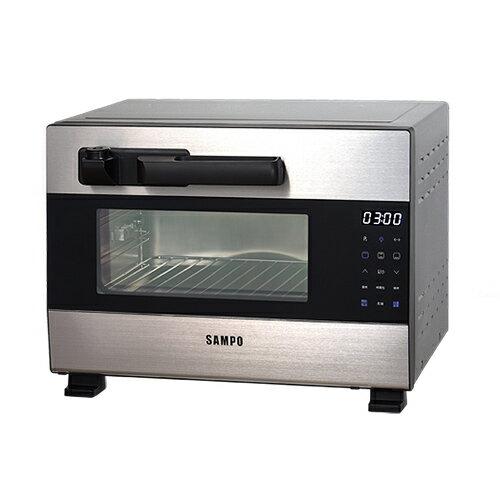 聲寶 SAMPO 28L 壓力烤箱 /台 KZ-BA28P