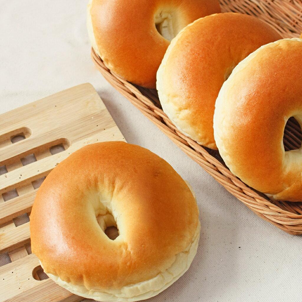 貝也納冰心麵包 - 原味奶香(無夾餡) 【Golden Brown 布朗主廚 貝果專賣】