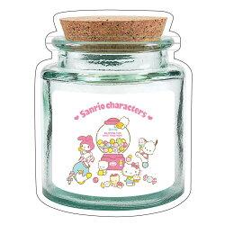 X射線【C061474】Sanrio 保鮮罐造型夾鍊袋M,夾鏈袋/飾品袋/透明袋/平口袋/小物收納