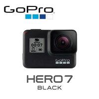 ◎相機專家◎ 送鋼化貼+自拍桿 GoPro HERO7 Black+原廠雙電池充電器組+Sandisk 64G 優惠組 公司貨 0