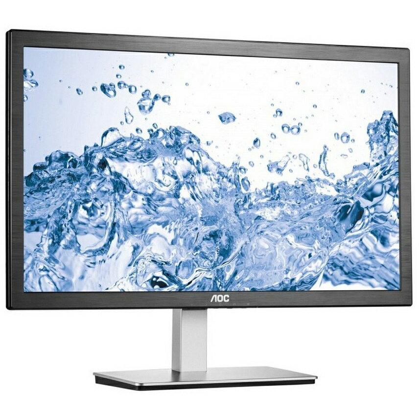 "24"" AOC HDMI/VGA Slim LED IPS LCD Monitor Full HD 1080p Widescreen - I2476VWM 1"