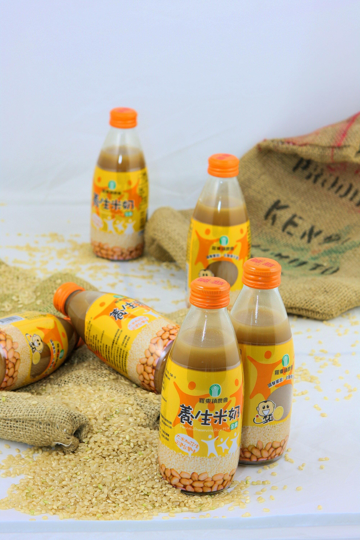 羅東養生奶品系列 24瓶入兩箱免運費搭配組 養生豆奶、米奶、杏仁奶、青仁黑豆奶