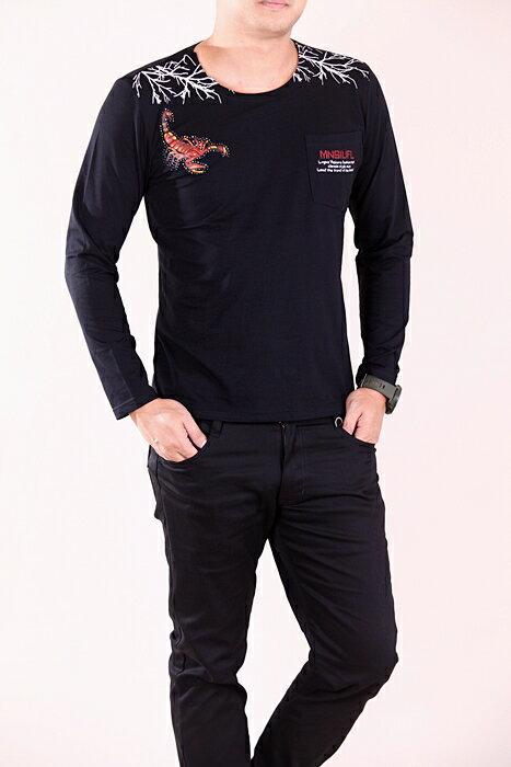 CS衣舖 彈力伸縮 高質感 長袖T恤 3324 1