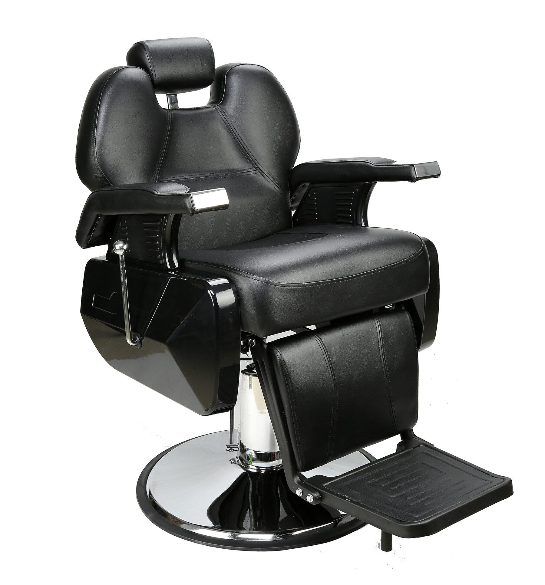 BarberPub All Purpose Hydraulic Recline Salon Beauty Spa Styling Barber Chair Black 0