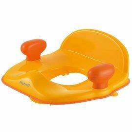 Richell利其爾 - Pottis 椅子型便器輔助便座 (橘) 0