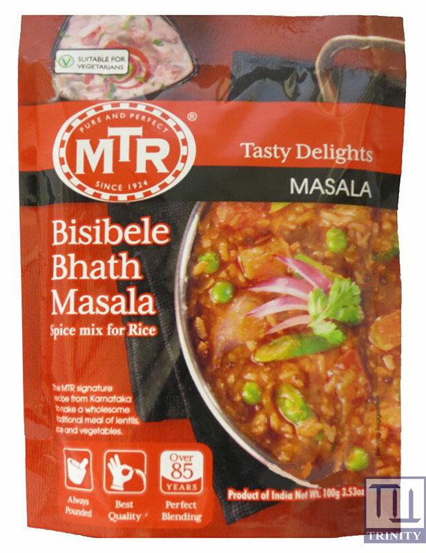 MTR Bisibele Bath Masala 印度扁豆燴飯即食調理包