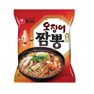 韓國泡麵 農心 魷魚炒碼麵 韓式經典口味