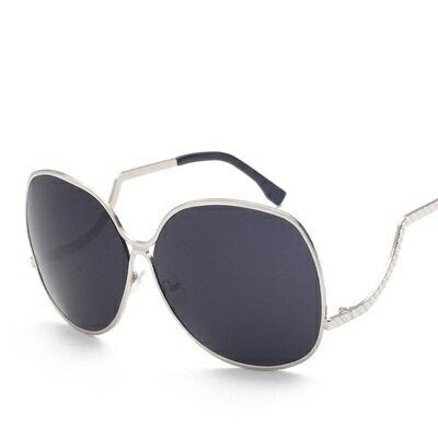 ~太陽眼鏡偏光墨鏡~ 方圓彎曲鏡架男女眼鏡 9色73en35~ ~~米蘭 ~