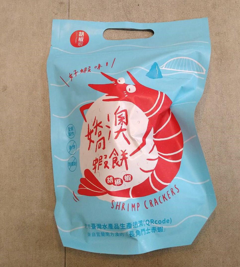 蘇澳區漁會嬌澳蝦餅 42g/包 零嘴 零食 餅乾 蝦餅