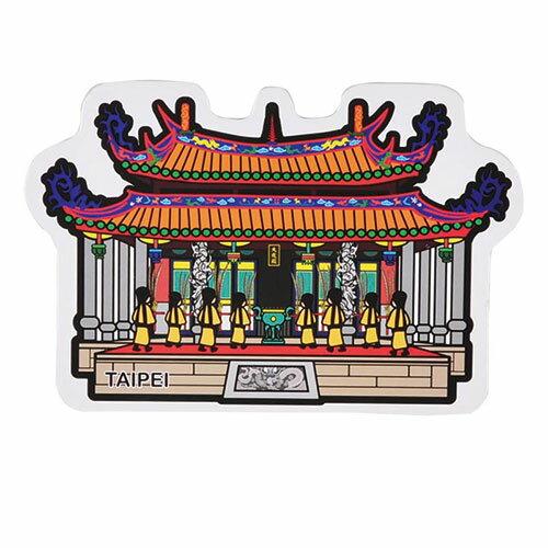 【MILU DESIGN】+PostCard>>台灣旅行明信片-台北孔廟/明信片(信仰/教育/孔子/TAIPEI Confucius Temple/TAIWAN RELIGION)