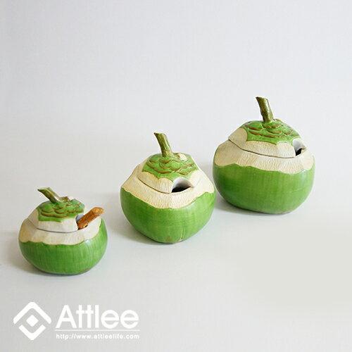 Attlee椰們系列《小少椰》創意甜品/造型蓋碗/禮品/造型盅/茶碗蒸/調味罐/布丁碗