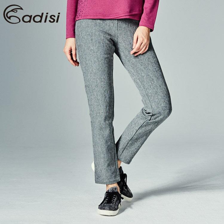 ADISI 女Softshell超撥水保暖合身窄版長褲AP1721079 (XS-2XL) / 城市綠洲專賣 (軟殼、排汗速乾、輕量保暖)