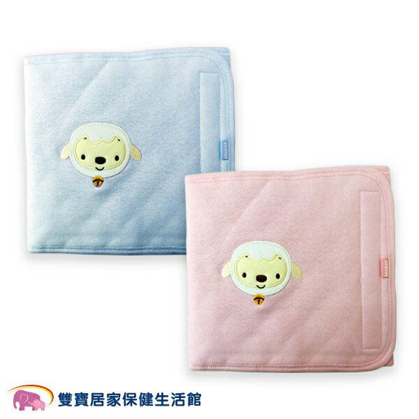 USBABY優生綿羊素色大肚圍L粉藍寶寶保暖柔軟舒適透氣肚兜包肚巾