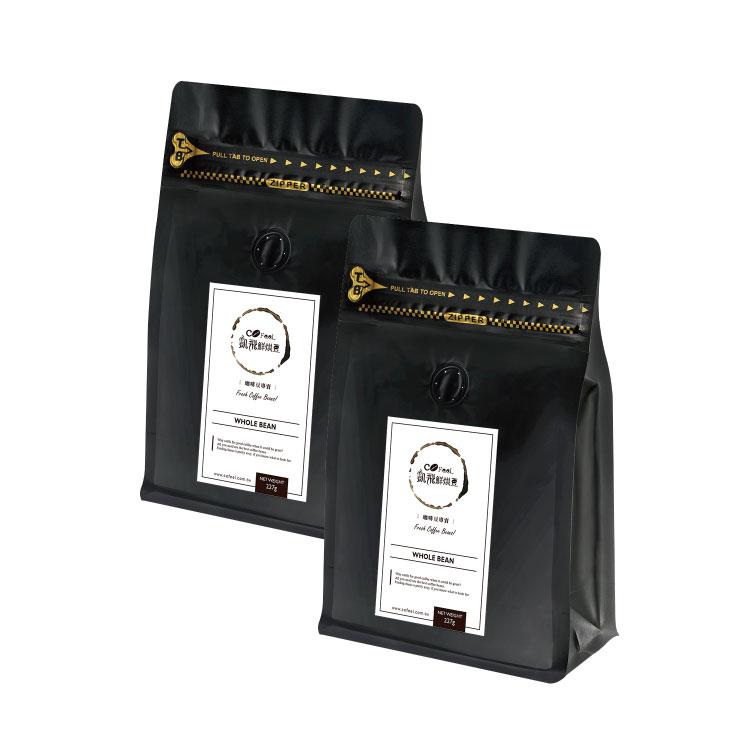 CoFeel凱飛 鮮烘豆哥倫比亞印地安雪峰中深烘焙咖啡豆一磅【比漾廣場】