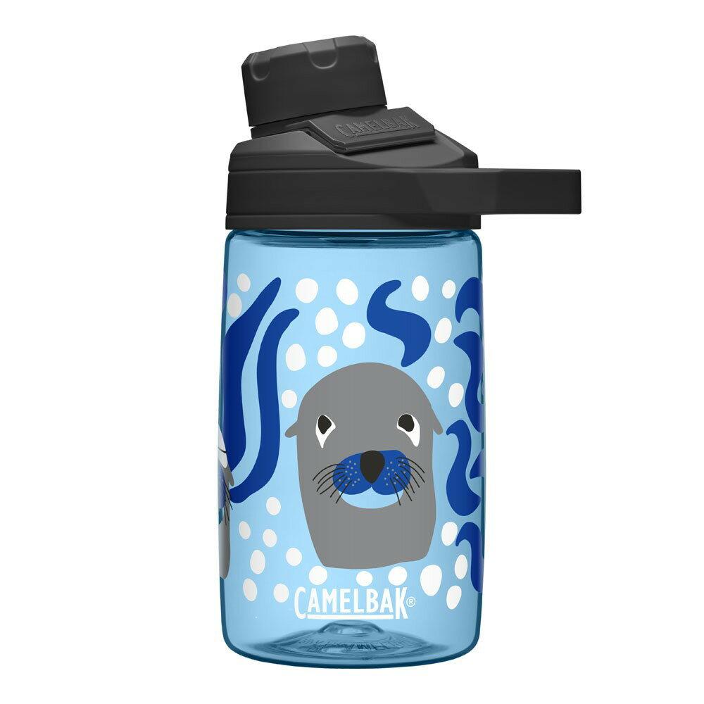 《CamelBak》400ml Chute Mag戶外運動水瓶 好奇海獅