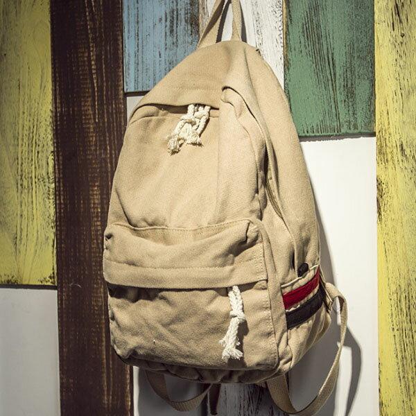 後背包-休閒水洗帆布後背包-6083- J II
