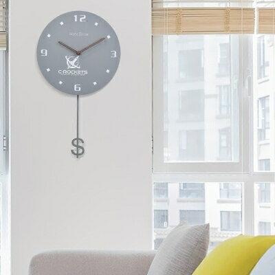 掛鐘 北歐掛鐘現代簡約擺鐘客廳臥室家用掛錶時尚創意中式歐式靜音鐘錶