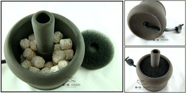 第一佳水族寵物:[第一佳水族寵物]台灣雅柏UP陶瓷水中過濾器(水妖精)