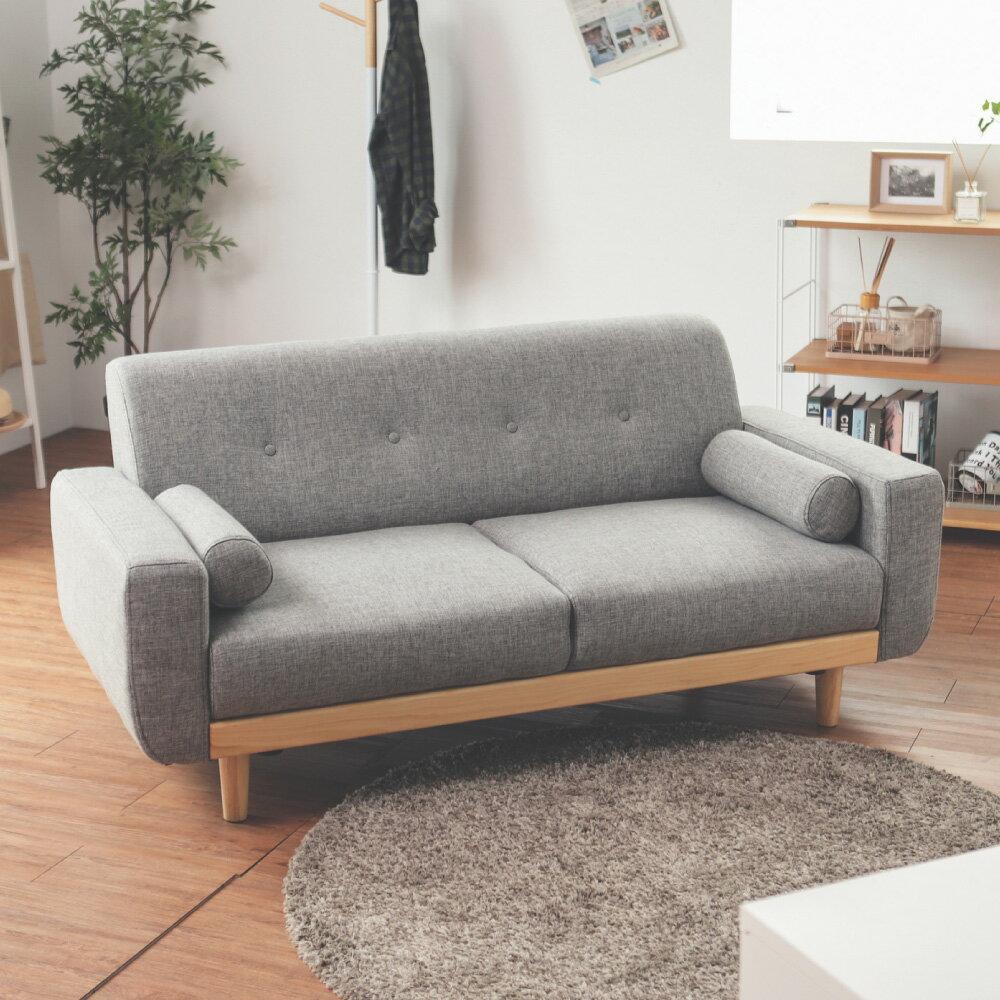 沙發 / 椅子 Vega 雷思麗北歐木作2.5人座沙發(五色) 完美主義【Y0010】 3