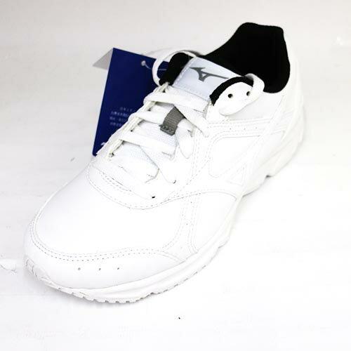 Mizuno 美津濃 女 學生鞋 皮鞋 網球鞋 G1GC180901 全白[陽光樂活]