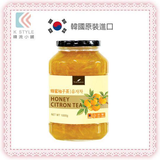 ~ Nokchawon ~ 綠茶園 蜂蜜 柚子茶 1kg 沖泡飲品 下午茶 果醬 ~  好