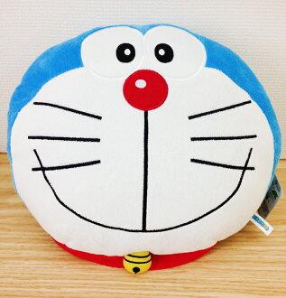 【真愛日本】15110200012 頭型午安枕-微笑 多拉A夢 小叮噹 抱枕 枕頭 靠枕 娃娃 生活用品