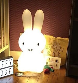 Miffy米菲兔坐姿擁抱燈
