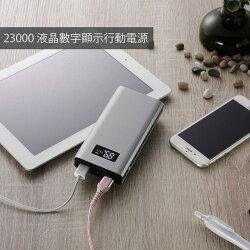 MINIQ 大容量23000mAh 雙USB鋁合金行動電源 BSMI認證 台灣製造