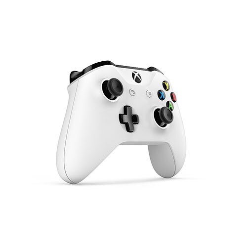 Xbox One特別版藍牙無線控制器 白【愛買】