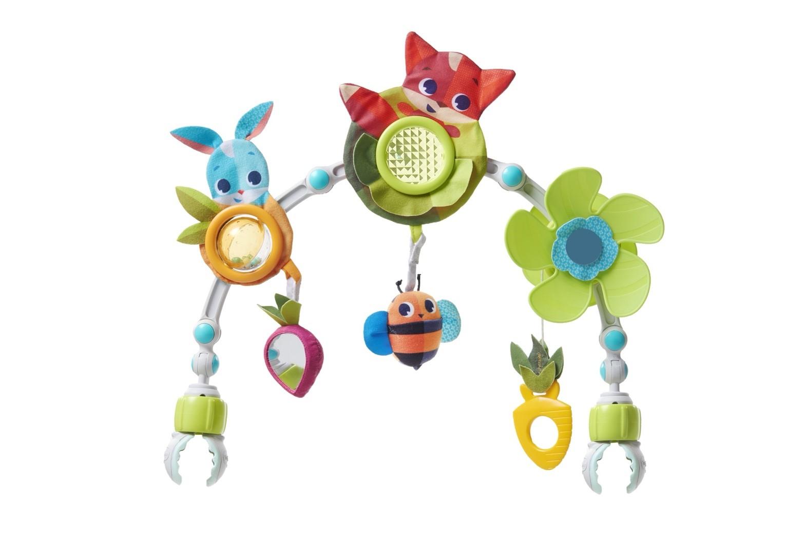 【淘氣寶寶●同價位商品 第二件 66折】Tiny Love 多功能吊飾-狐狸兔